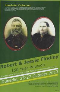 The 150th Findlay Reunion, Newsletter Collection
